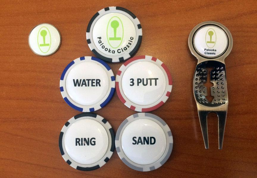 Poker Chip Golf Game