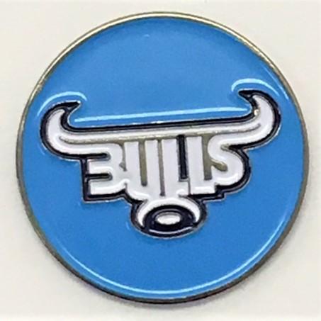 BULLS Custom Die Struck 24mm Ball Marker Disc