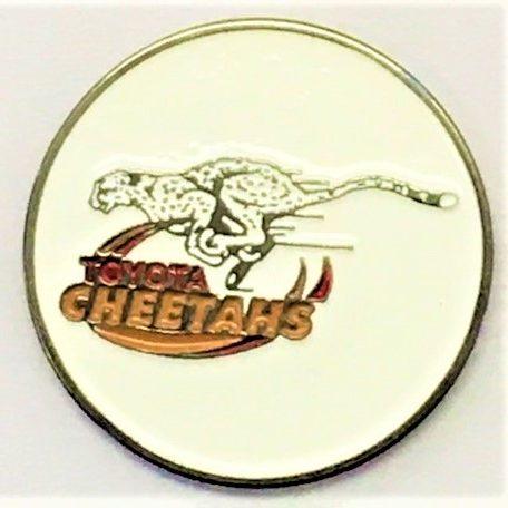 Custom Cheetahs Die Struck 24mm Ball Marker