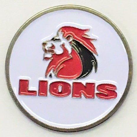 LIONS Custom Die Struck 24mm Ball Marker Disc e1559894711433