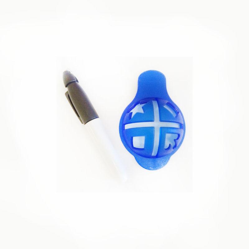 Pens Ball Permanent Marking Pen Mold Set