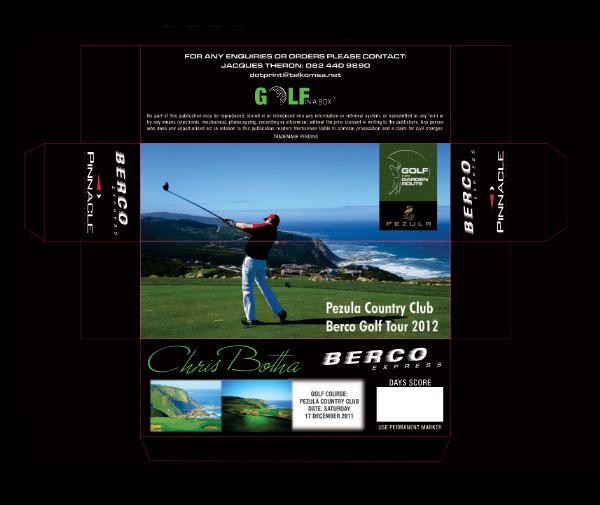 Berco Golf Tour - Pezula Country Club